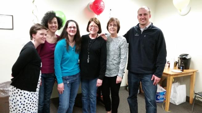 Bonnie & the HR team