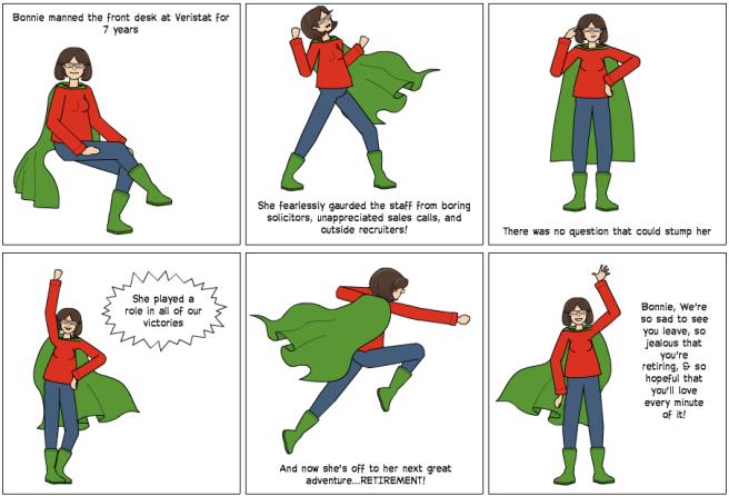 Comic strip created using Pixton.com